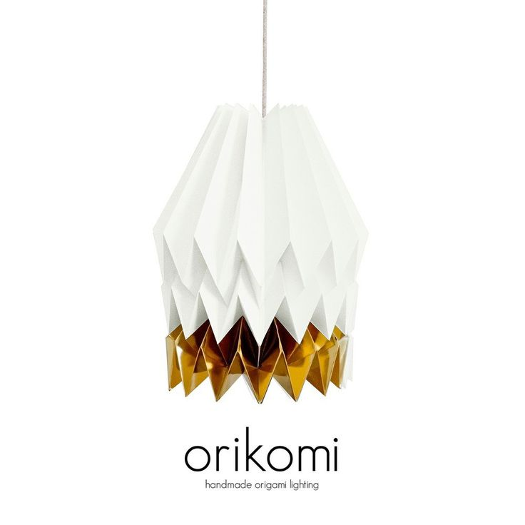 Orikomi, Abajur, Papper, Papel, Arquitect, Light, Lamp, Aroma, Hand made, LED, Colors www.lightestore.tictail.com/products/orikomi
