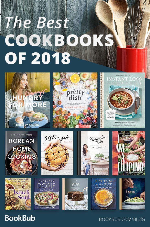 22 of the Best Cookbooks of 2018 Including popular Instant Pot cookbooks, blockb…   – dinners