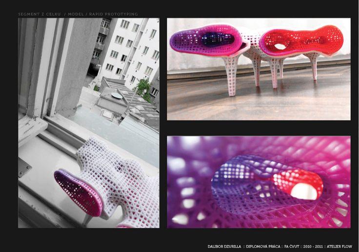 "3D model section photos ""Prototypal Thermae"" Dalibor Dzurilla"