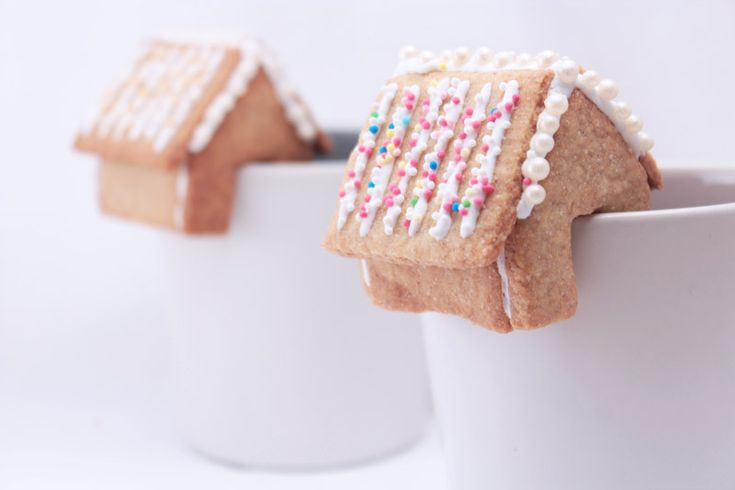 Petites maisons en pain d'épice