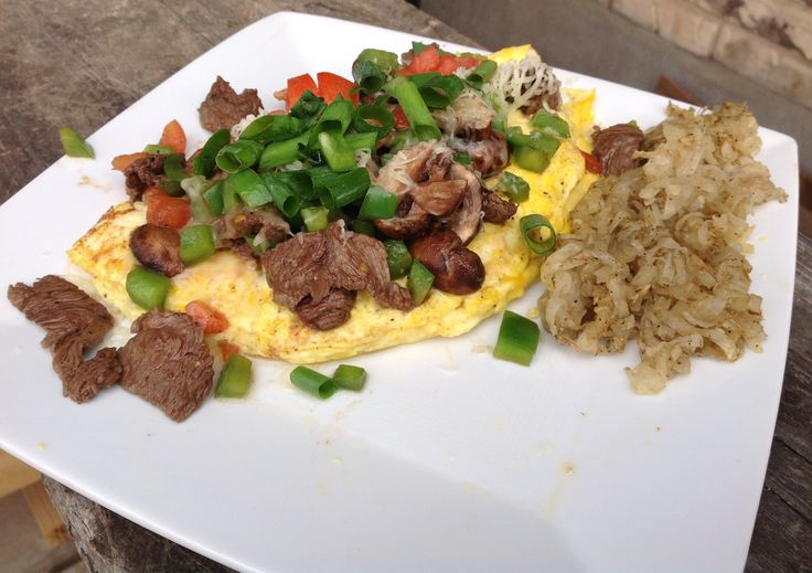 IHOP (International House of Primal) Big Steak Omelette | Fit Women For Life RP by Splashtablet - the Kitchen iPad Case that sticks everywhere. Winter Sale prices on Amazon Now!