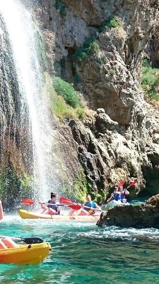 Agenda Granada: #Paseo en #kayak en la #playa #Burriana , #malaga