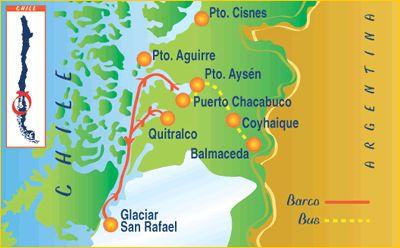 Puerto Chacabuco area