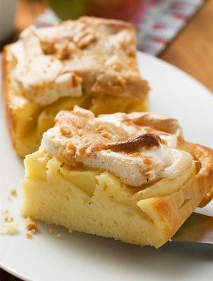 Almás-habos bögrés sütemény