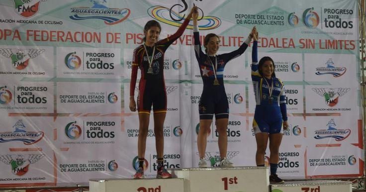Llega a su fin la Copa Federaciones de Ciclismo de Pista Juvenil y Élite en Aguascalientes
