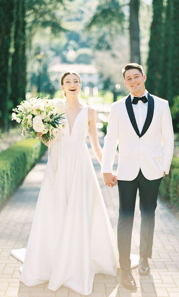 Jenny By Jenny Yoo Bridal The Spencer Gown Features A Plunging V
