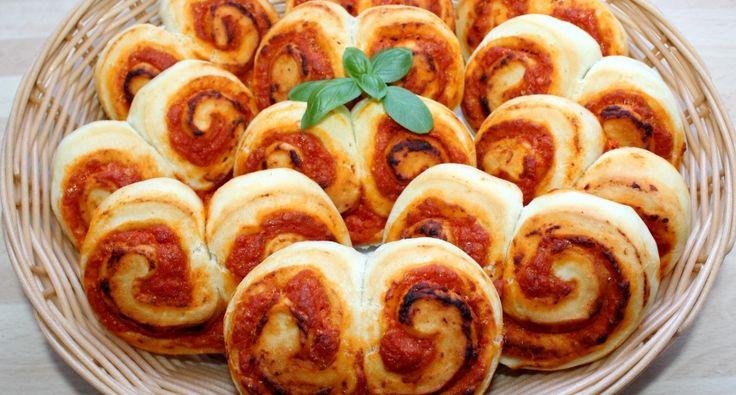 Pizzás tekercs recept | APRÓSÉF.HU - receptek képekkel