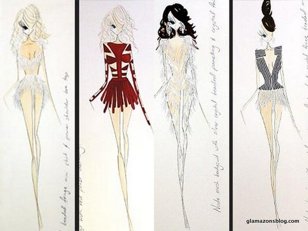 #Beyonce's #Revel costumes were designed by Ralph & Russo #BeyonceatRevel