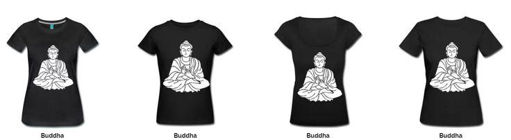 vrouwen T-Shrits Budda Andere ontwerpen kunnen ook.