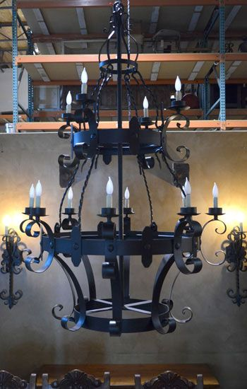 23 best chandeliers images on pinterest wrought iron chandeliers chapital chandelier wrought iron aloadofball Gallery