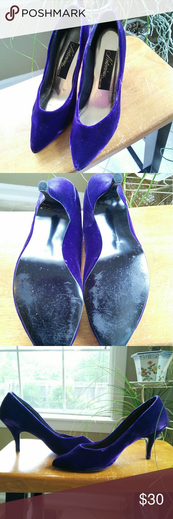 Selling this Notorious purple velvet heels on Poshmark! My username is: tubes1. #shopmycloset #poshmark #fashion #shopping #style #forsale #Notorious #Shoes