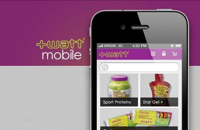 Versione mobile dell'online store di +Watt. #webagency #portfolio #mobile #+watt  www.watt.it