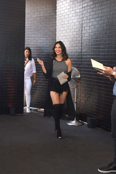 Olivia Munn hosts the Chef's Cut Real Jerky event for National Jerky Day on June 12, 2017 in Los Angeles, California.