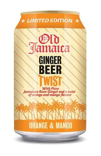 Old Jamaica Ginger Beer Twist Orange & Mango