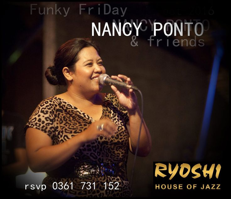 """NANCY PONTO and friends , funk, soul, blues"""