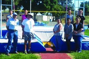 Track and Field Team has new pole vault pit and equipment