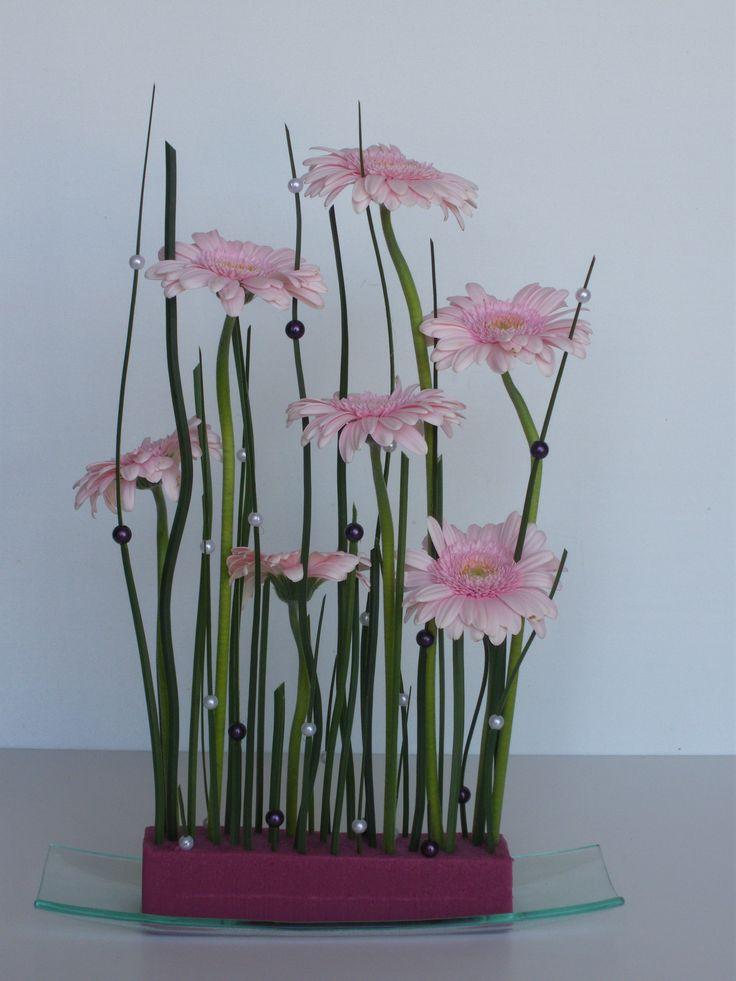 Tutoriel Rideau perlé fleuri (Art floral) - Femme2decoTV