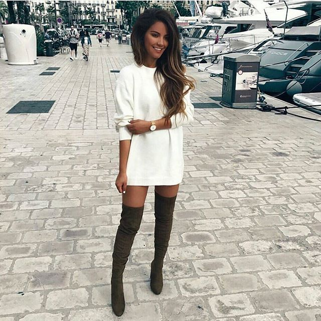 Best 25  Thigh high boots ideas on Pinterest | Black high boots ...