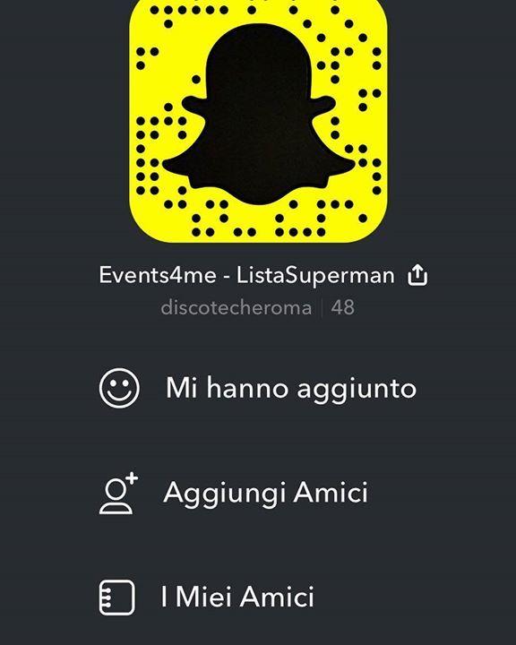 SPECIAL GIFT  Aggiungimi su Snapchat! Nome utente: discotecheroma http://ift.tt/28OXp4E http://ift.tt/2sEFWsR - http://ift.tt/1HQJd81