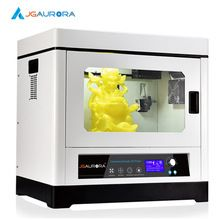 JGAurora A-8 3D Printer Fully Closed Metal Frame Industrial Grade Large Volume Max 350*250*300mm High Precision Z axis 0.002mm