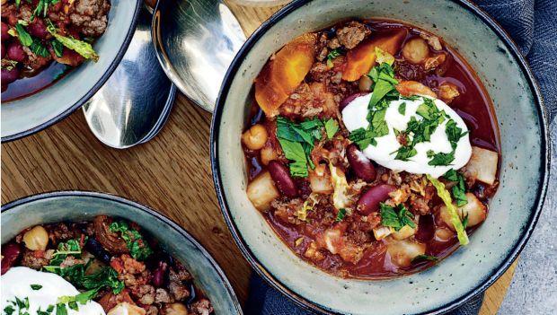 Chili con carne med selleri og gulerødder | femina.dk