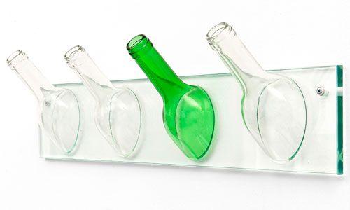 Percheros de botellas