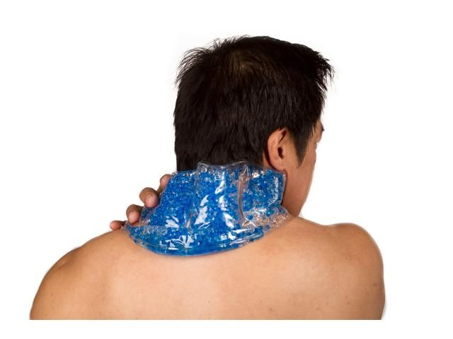 Cold pack - 9 Home Remedies for Sore Neck Muscles