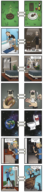 Como os cães veem o mundo.
