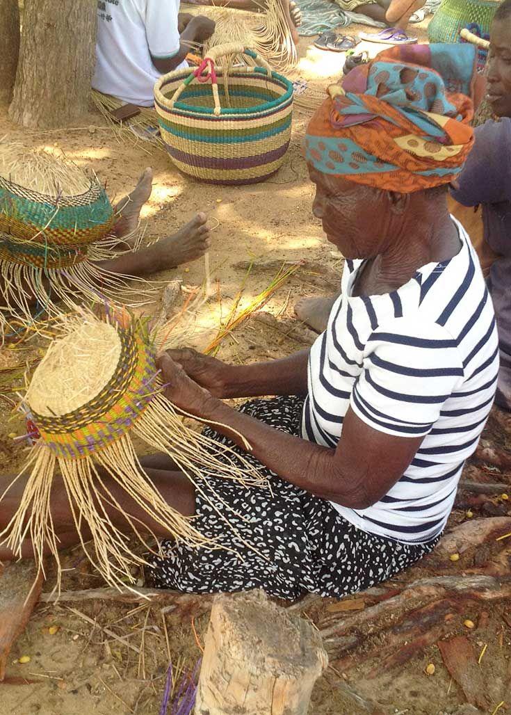 Basket Weaving Ghana : Best images about african baskets senegal