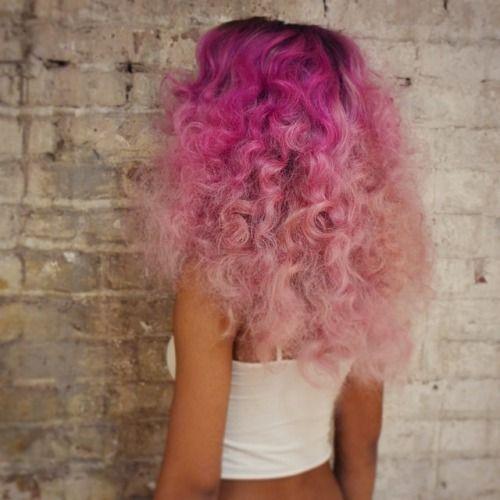 pink curlsduh inspo curly hair styles hair hair