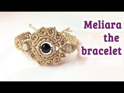 Macrame pendant tutorial: The Meliara jewelry set - Hướng dẫn thắt mặt dây chuyền thủ công - YouTube