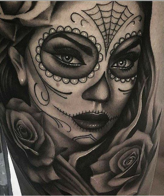 Schädel Frau Tattoo # Schädel #Tattoo #Frau – #Frau # Schädel #Tattoo #Frau #…