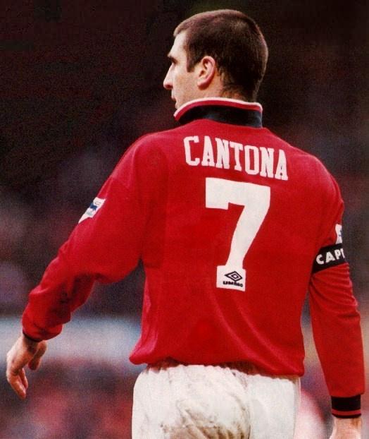 Eric Cantona - happy 46th birthday.