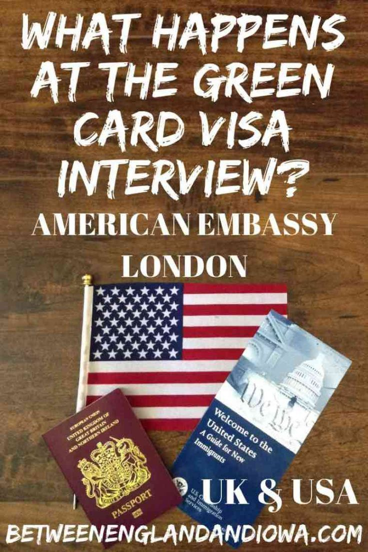 What Happens In The Visa Interview At The American Embassy London