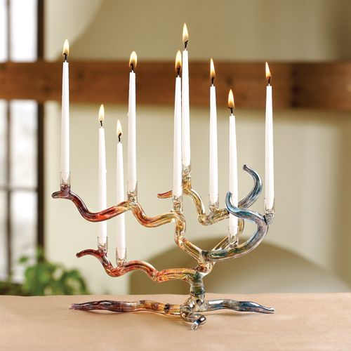 Menorah - wish I had bought one like this when I had the chance