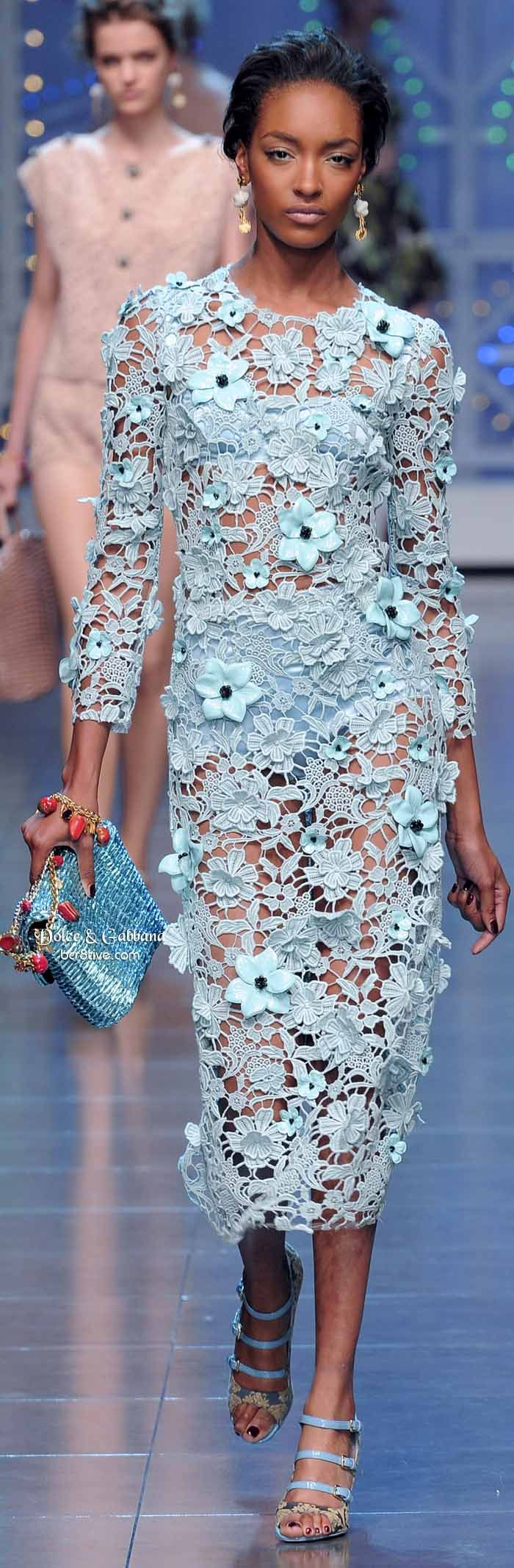 Dolce & Gabbana 2014  everything somewhat modest or modest is only made by the couture designers. why?