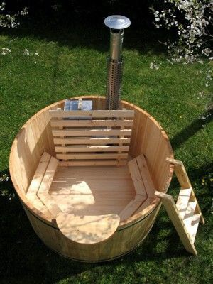 Diy hot bathtub