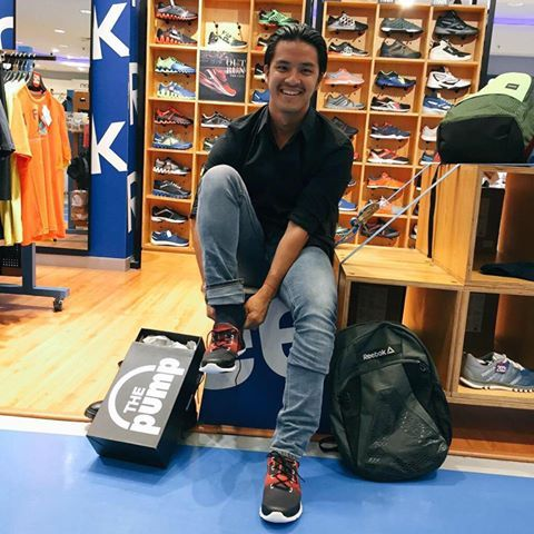 Morgan Oey wearing Reebok Z Pump #MAPActiveFriends