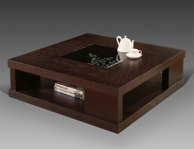 dark wood coffee table | Contemporary Square Coffee Table, 'Dante'  Collection by Creative - 38 Best Images About Monte Mar On Pinterest Center Table, Coffee