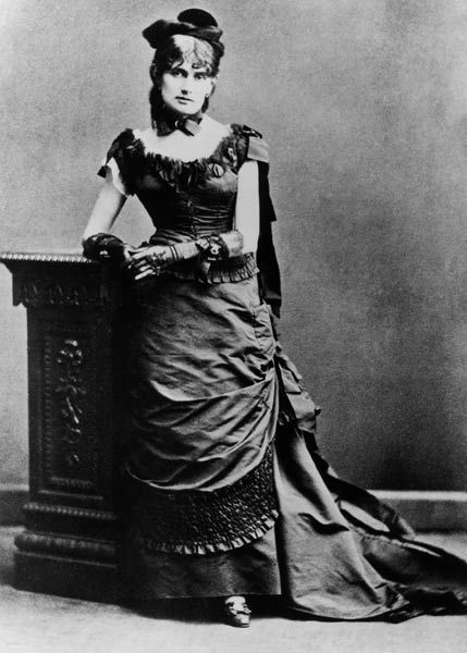 Photograph of Berthe Morisot, c. 1875