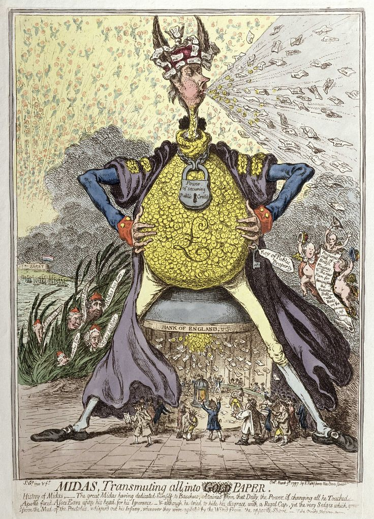 Satire, sewers and statesmen: why James Gillray was king of the cartoon