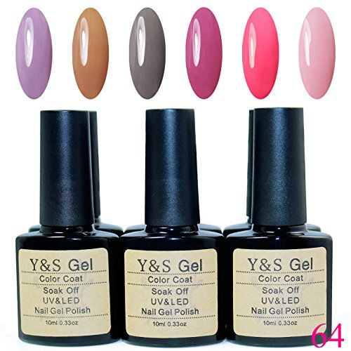 Y&S Brand UV LED Gel Polish 10ml 6pcs/Lot Soak Off Gel Nail Polish Nail Lacquers - http://buyonlinemakeup.com/y-s-2/kit-064-y-s-brand-christmas-gifts-10ml-6pcs-lot-soak