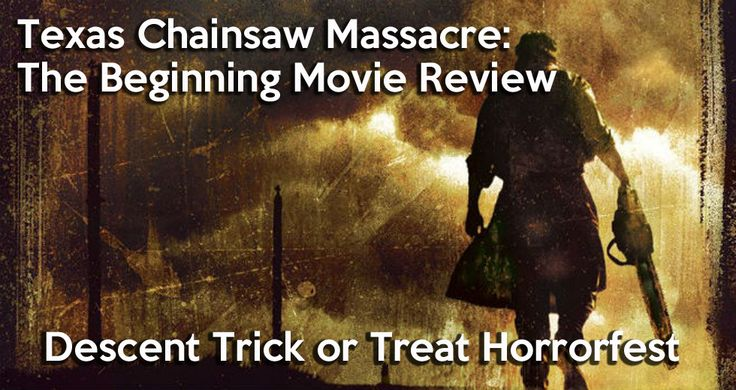 Don't miss our review of Texas Chainsaw Massacre: The Beginning  http://www.descentsundays.com/gothic-news/goth-culture/movies/horror/texas-chainsaw-massacre-beginning-review/