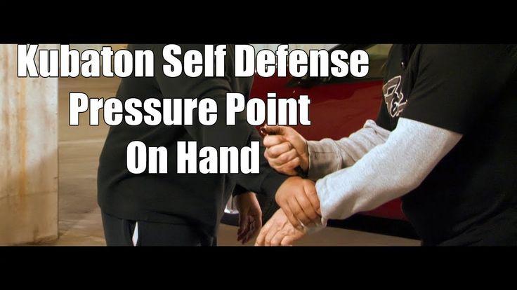 Fight Self Defense Kubaton Pressure Point On Hand