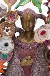 Fabienne Auzolle, sculptures en faïence Exposition Beaulieu-sur-Layon - ouest-france.fr