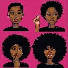 big chop hair growth progress - Google Search