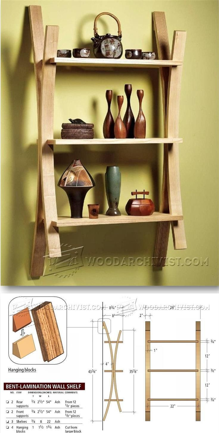Build Wall Shelf Furniture Plans And Projects Woodarchivist Com