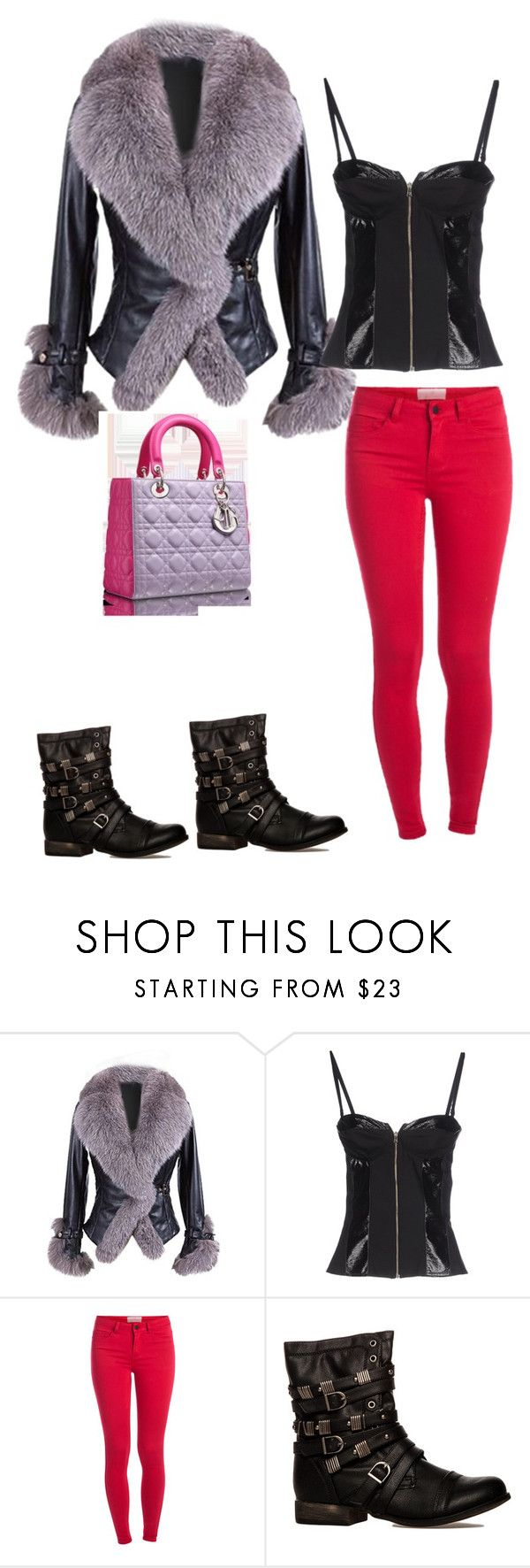 """Без названия #1539"" by katya-ukraine on Polyvore featuring мода, GUESS by Marciano и Pieces"