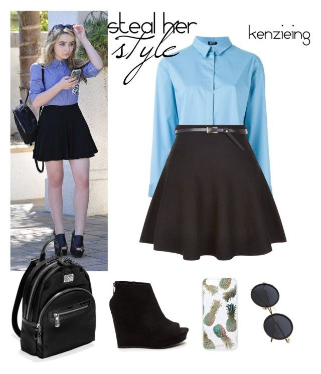 """Steal Her Style- Sabrina Carpenter"" by kenzieing on Polyvore featuring Jil Sander Navy, Brighton, Sonix, New Look, StreetStyle, Stealherstyle and sabrinacarpenter"