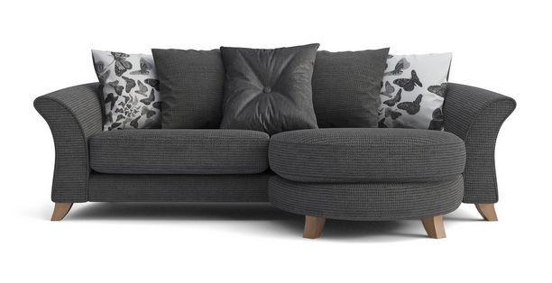 Escape 4 Seater Pillow Back Lounger Sofa Escape   DFS